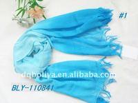2013 fashion yarn dye chevron infinity scarf