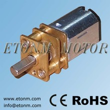 12mm High Precise Brushed Small Electric Toy Motors with Gearbox 3V 4.5V 6V