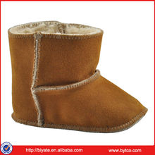 Leather baby booties wholesale