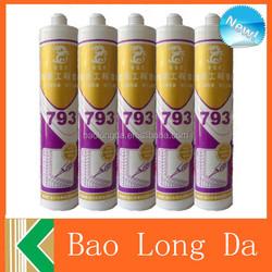 neutral caulking adhesive glue joint silicone sealant