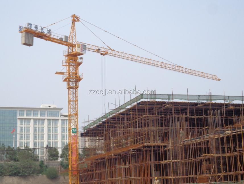 Tower Crane Climbing : Ton climbing tower crane construction companies in dubai