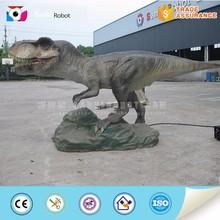 Exhibition use 3m robotic tyrannosaurus rex model