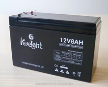 China Manufacturer Sealed Lead Acid Rechargeable UPS 12V 8AH Battery