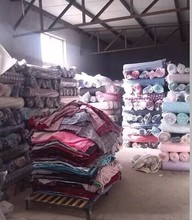 wholesale cheap 100% cotton reactive printed flannel fabric stock lot
