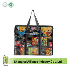 Strong And Cheap Cartoon Full Printing PP Non Woven Laminated Storage Bag