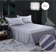 High Quality 100%19mm Silk Satin Stripe Bedding Sets