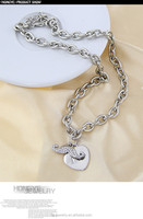 Exquisite Customized design energy necklace increasing blood circulation for friend ship