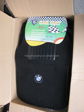 Extremly awsome carpet car floor mat with customized emobroidered logo