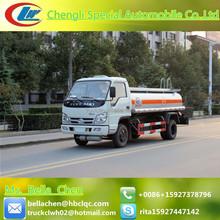 FORLAND 5000 liters fuel tanker truck, crude oil truck, aluminum fuel tanks