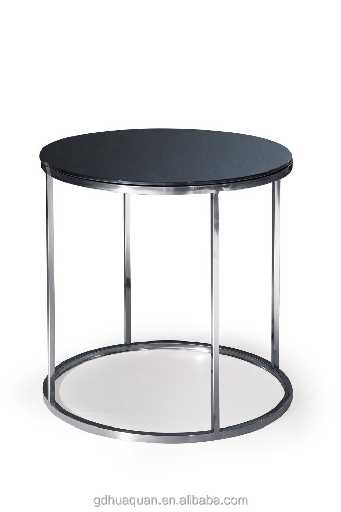 Ikea round side table stainless steel glass side table round glass side table buy ikea round Ikea coffee tables and end tables