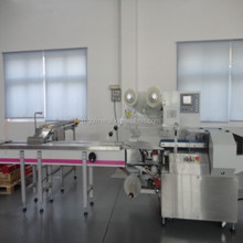automatically horizontal pillow sealer machine and hot shrinking machinery for clothes