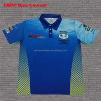 100% polyester sublimated fishing shirts