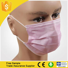 Health and medical disposable mask 3 ply non woven