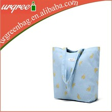 Blue Cotton Tote Bags Fruit Bags Wholesale