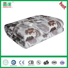 Single Fitted Multifunctional Fleece Electric Heating Blanket