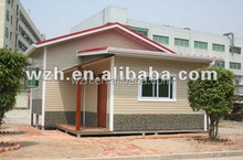 prefab container house/accommod container house as guard , kiosk ,warehouse by WZH Group