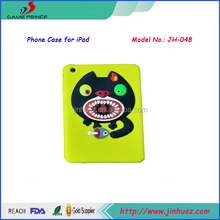 Pretty cat Love Fish Style case for iPad Mini