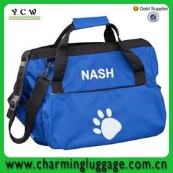 Eco-Friendly custom blue pet carrier dog bag /bags factory dog
