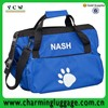Eco-Friendly custom blue pet carrier dog bag /bags factory dog