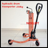 made in China 250kg capacity oil drum pallet truck