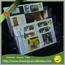 High Quality Acrylic Magazine Display Rack Holder Wholesale Price