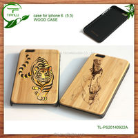 bulk cheap wholesale mobile phone cases wood back cover,customized logo engraved wooden case for iphones(cherry)