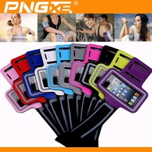 PNGXE wholesale waterproof neoprene elastic smartphone phone sport/Gym armband jogging running case for iphone 6