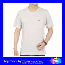 OEM High Quality Men Blank T-shirts Muscle Fit