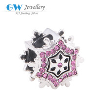 Wholesale Charm Pendant Real 925 Sterling Silver European Style Girl And Boy Charm