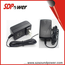 12V 1A 24V 0.5A 15V 0.8A 9V 1.5A Power adapter with UL PSE ,KC, SAA,CE,FCC,ROHS for Ruoter,DVD, camera,ADSL