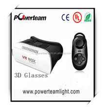 Virtual reality 3D glasses Private 3D cinema Personal cinema 3D glasses