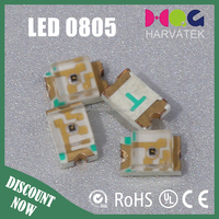 0.06W led 0805 Red and Blue Bi-Color SMD LED Biggest China factory