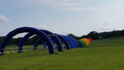 outdoor event decor inflatable arch