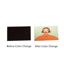 Color Changing Heat Activated Sticker