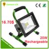 High power led light 12v ip65 20w rechargable emergency led flood lightings