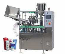 plastic tube filling and sealing machine for ointment