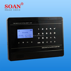 Security equipment, home alarm OEM ODM service wireless alarm system with sensor, GSM Alarm