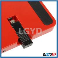 Smart Mini Translucent T-Flash / Micro SD Card Reader driver with Lanyard (Dark Grey)
