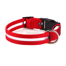 Unique flashing nylon pet collars