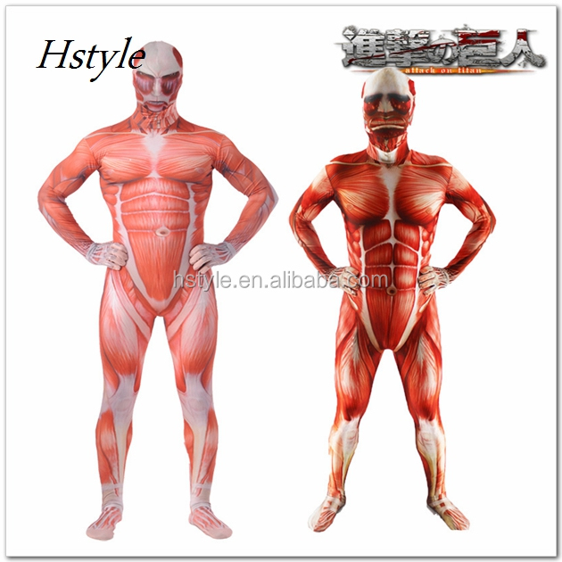 Muscle Man 2nd Skin Suit Costume Hnf028 - Buy Muscle Man 2nd Skin ...