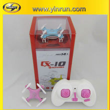 CX-10 Radio Control Toy Style and Quadcopter Type R/C Drone Uav