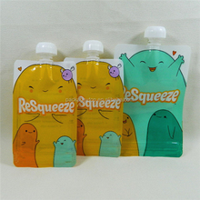 gravure soft plastic printed laminated packing materials plastic packaging fruit juice pouch
