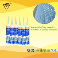 Low Volatility/no odor/high modulus modified silicone sealant