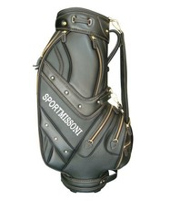 2015 sportmissoni PU OEM golf BAG / pu golf cart bag /personalized golf bags / lightweight golf bag