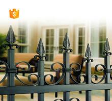 Galvanized assembled and antirust garden fence