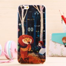 for iphone 6 soft tpu lion king phone case in stock custom printing phone cover