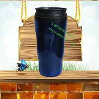 Double Insulated Plastic Cups With Lid