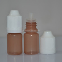 3ml LDPE juices plastic dropper bottle with Childproof cap&Thin tip dropper bottle