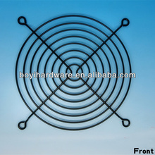 Computer metal wire fan guard, pc fan cover