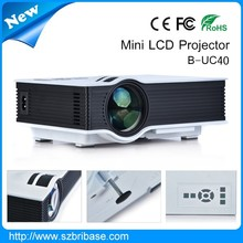 L+owest price mini projector mobile phone with HDMI support 1080p AV USB SD card HDMI
